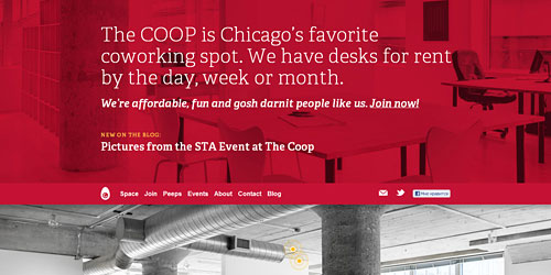Перейти на Co Work Chicago
