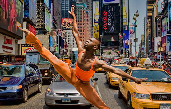 Городской балетный перформанс от фотографа Richard Calmes