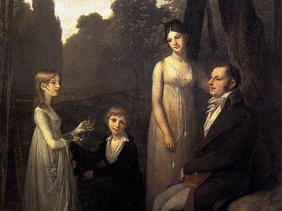 Rutger Jan Schimmelpenninck with his Wife and Children