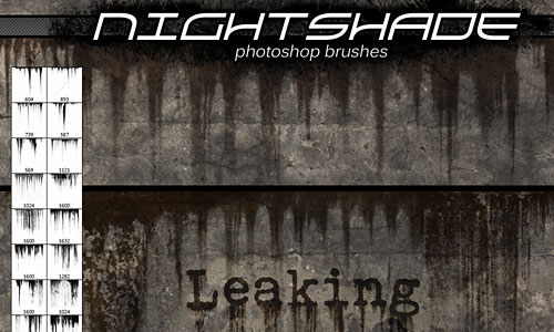 Скачать Nightshade leaking brushes