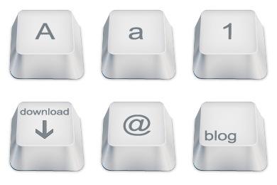 Скачать Keyboard Keys Icons By Chromatix