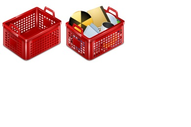 Скачать Basket Icons By Kyo Tux
