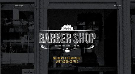 Перейти на The Old Barber Shop