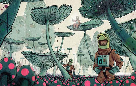 Странные создания и метаморфозы от иллюстратора Mateusz Kolek