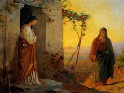 Мария встречает Исуса
