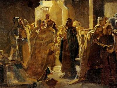 Христос в синагоге