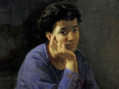 Портрет неизвестной в голубой блузе