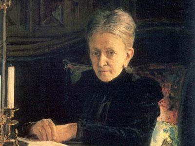 Портрет писательницы Елены Лихачевой