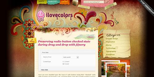 Перейти на I Love Colors