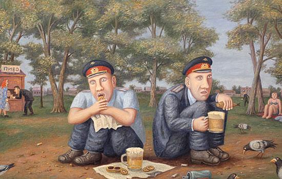Ностальгия по советской действительности от художника Любарова
