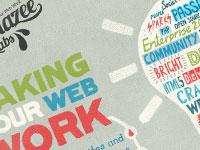 20 примеров использования типографики в дизайне сайтов