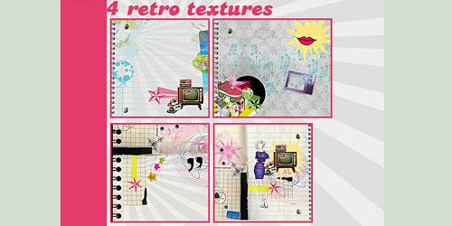Скачать Retro Textures