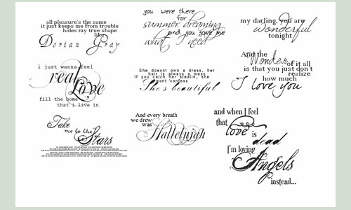 Скачать Beautiful Text Brushes