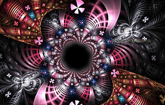 Завораживающее фрактальное великолепие от дизайнера Lucid Light