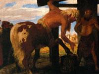 Вымышленный таинственный мир художника Арнольда Бёклина