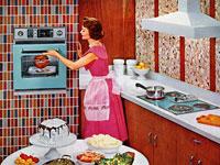 20 примеров винтажной рекламы интерьеров прошлого века