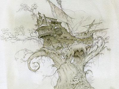 Перейти на Корабль Застрял На Дереве