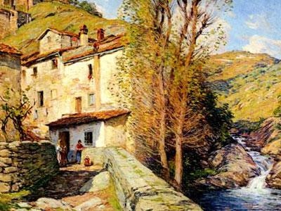 Old Mill Pelago Italy