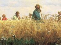 Деревенская простота и достоверность на картинах художника Мясоедова