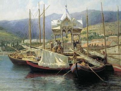 Пристань в Ялте