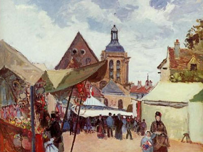September Fete Pontoise 1872