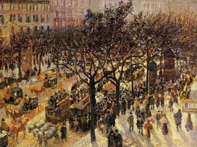 Boulevard Des Italiens Afternoon 1897