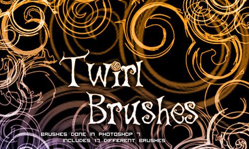 Скачать Twirl Brushes 1