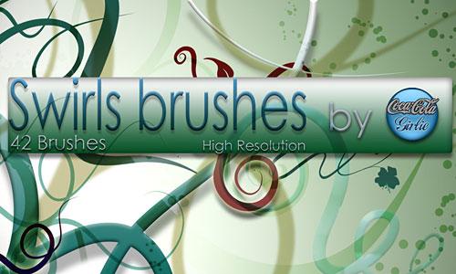 Скачать Swirl Brushes