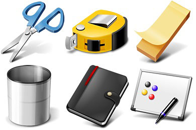 Скачать Office Supplies Icons
