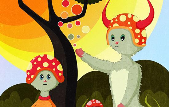 Очаровательные векторные милашки от иллюстратора Teodoru Badiu