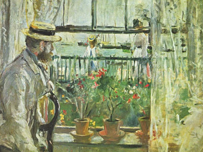 Eugene Manet On The Isle Of Wight