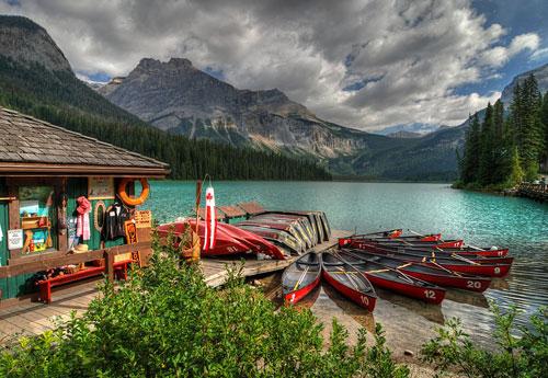 Перейти на Emerald Lake Ii Yoho Np Canada
