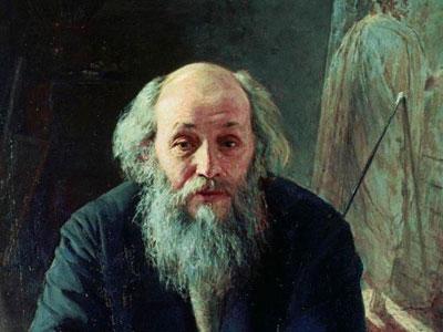 Портрет художника Николая Николаевича Ге