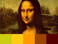 20 готовых цветовых палитр с загадочных картин Леонардо да Винчи