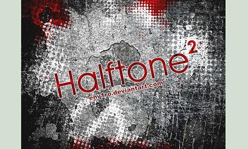 Скачать Halftone 2 Brushes