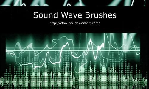 Скачать Sound Wave Brushes