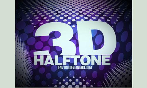 Скачать 3d Halftone Brushes