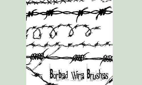 Скачать Barbed Wire Brushes