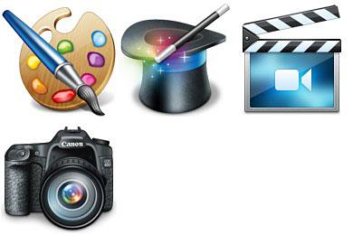 Скачать Hobbies Icons