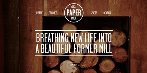 Перейти на The Paper Mill Lasswade