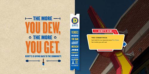Перейти на Deweys Pizza
