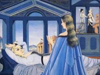 Сюрреалистические сюжеты и образы от художника Поль Дельво