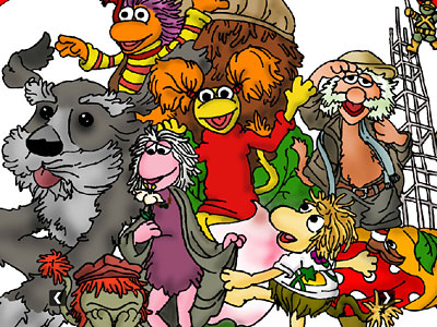Перейти на Fraggle Rock Art от Joel Marcano