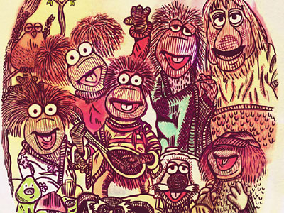 Перейти на Jim Henson's Fraggle Rock от Cris Mitsue