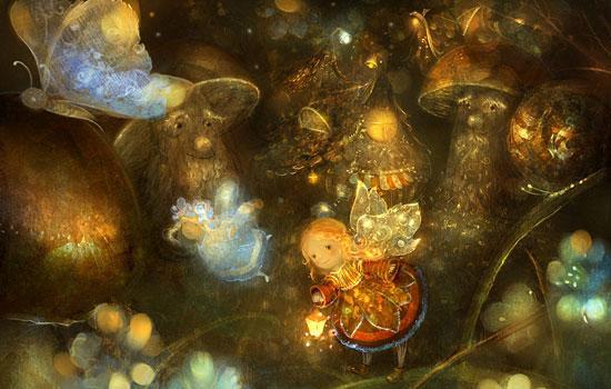 Трогательные детские иллюстрации от художницы Полины Яковлевой