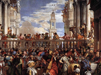 The Marriage At Cana 1563