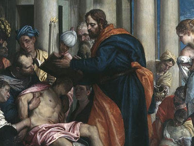 Saint Barnabas Healing The Sick