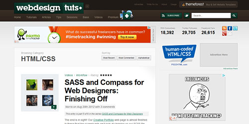 Перейти на Webdesign Tutsplus
