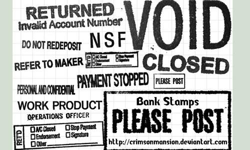 Скачать Bank Stamps