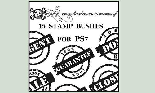 Скачать 15 Stamp Brushes
